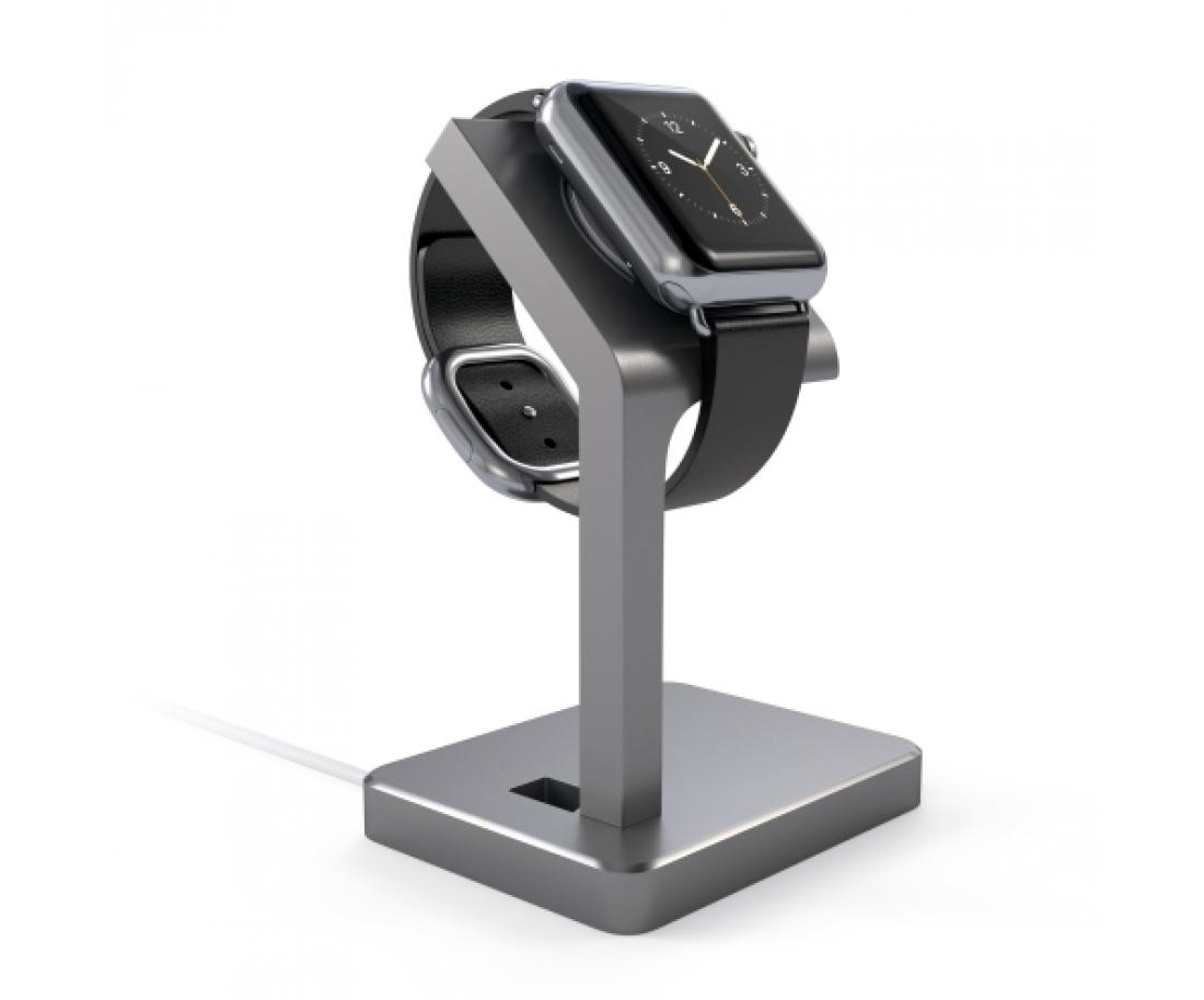 Подставка Satechi Aluminum Apple Watch Charging Stand Space Gray