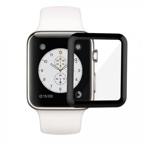 Защитное стекло 3D для Apple Watch 38mm б/к