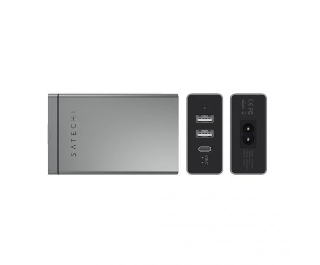 Сетевое з/у Satechi USB-C 40W Travel Charger Space Gray