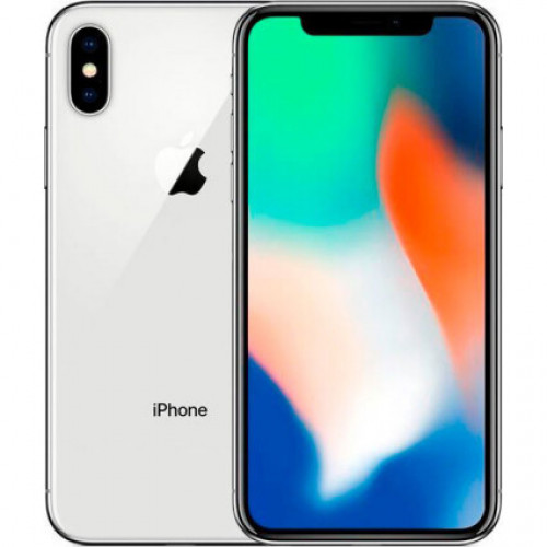 iPhone X 64gb, Silver б/у