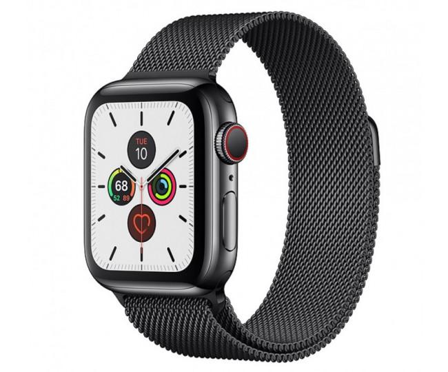 Apple Watch Series 5 (GPS + Cellular) 40mm SB Steel  Case with SB Milanese Loop (MWWX2) б/у