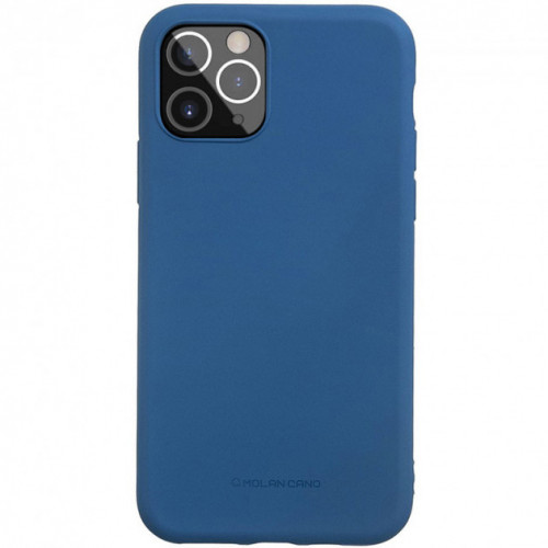 Чехол Molan Cano Smooth для iPhone 12/12 Pro Blue