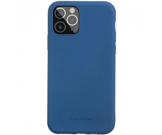Чехол Molan Cano Smooth для iPhone 12/12 Pro Blue