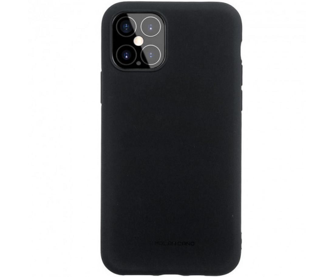 Чехол Molan Cano Smooth для iPhone 12/12 Pro Black