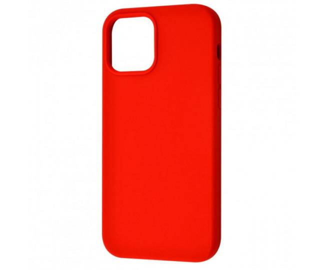 Чехол Totu Silicone Full для iPhone 12 Pro Max Red