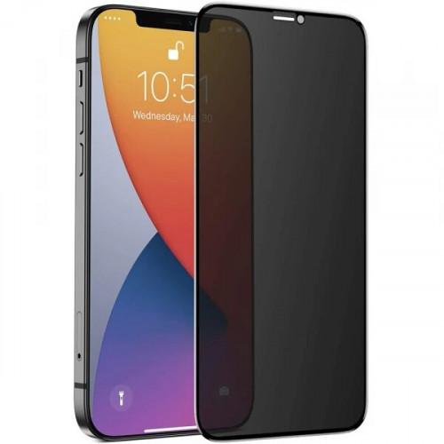 Защитное стекло Privacy для iPhone 12 Mini б/к