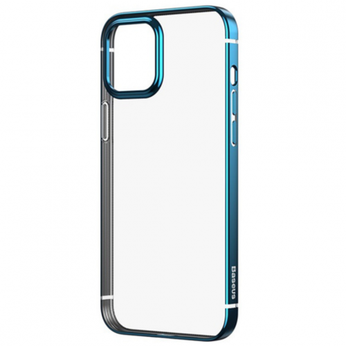 Чехол Baseus Shining для iPhone 12 Mini Navy Blue