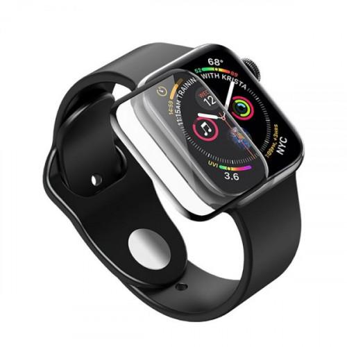 Защитное стекло 3D PMMA для Apple Watch 38mm Black