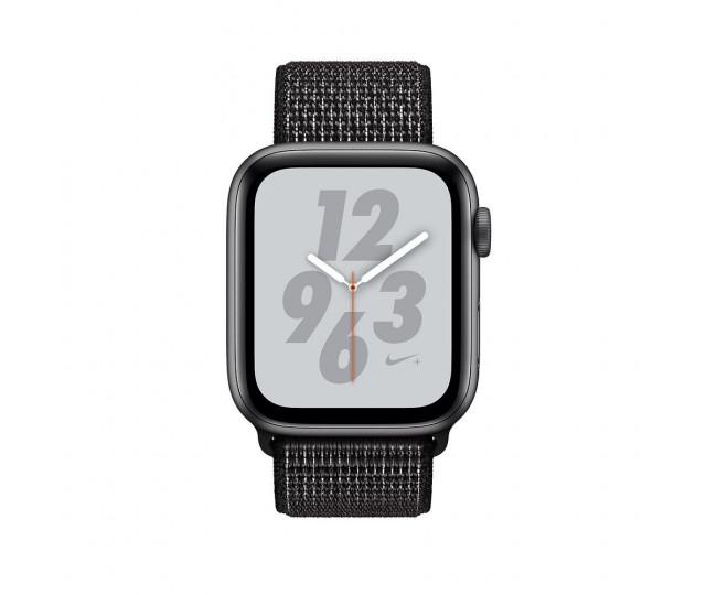 Apple Watch Nike+ Series 4 GPS  44mm SG AL  w. Black Nike Sport Loop (MU7J2) б/у