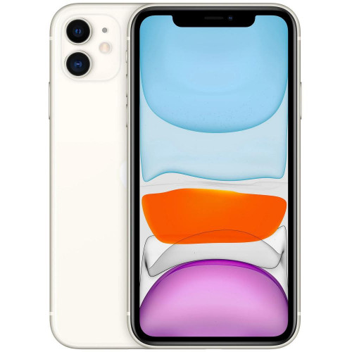 iPhone 11 128Gb White Slim Box (MHDJ3)