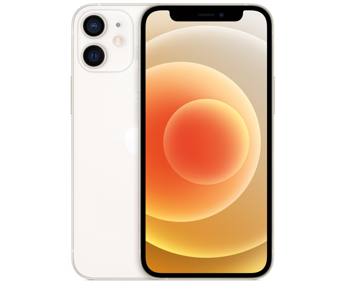 iPhone  12 256gb, Dual Sim White (MGH23)