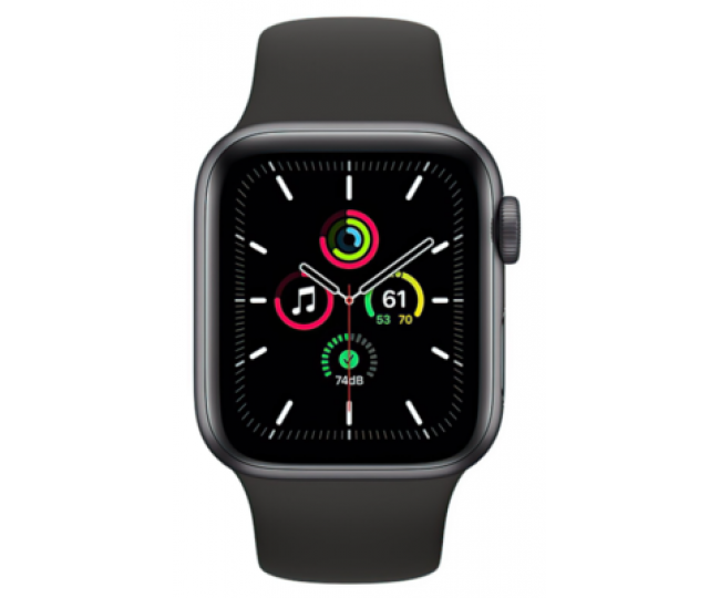 Apple Watch SE GPS + Cellular 44mm Space Gray Aluminum Case with Charcoal Sport L. (MYEU2/MYF12) б/у