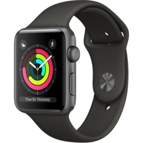 Часы Apple Watch Series 3 42mm GPS Space Gray Aluminum Case with Gray Sport Band (MR362) б/у