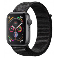 Apple Watch Series 4 GPS 44mm Gray Alum. w. Black Sport l. Gray Alum. (MU6E2) б/у