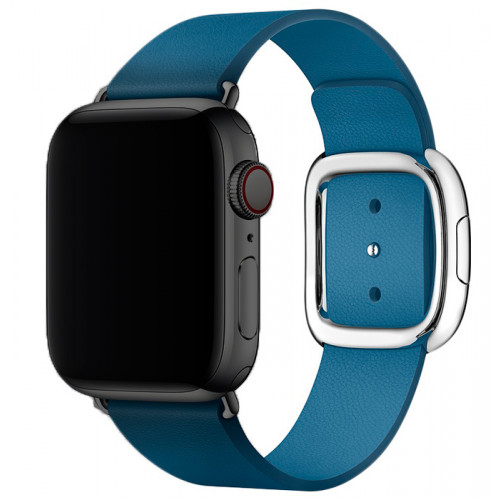 Apple Watch Series 2 42mm Space Black Stainless Steel with Blue Buckle Band б/у