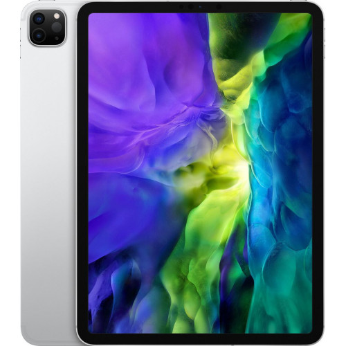 iPad Pro 11' Wi-Fi + LTE, 256gb, Silver 2020 (MXEX2, MXE52)