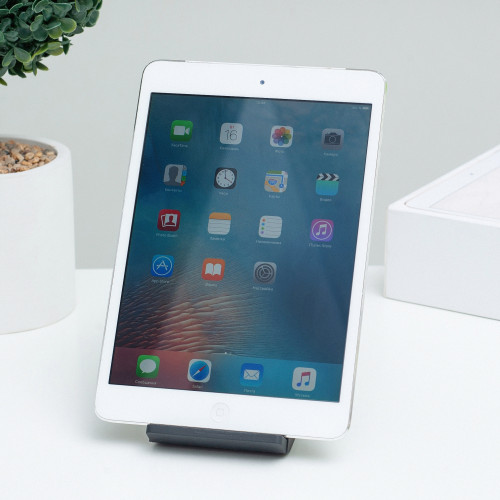 iPad mini Wi-Fi + LTE, 16gb, White б/у