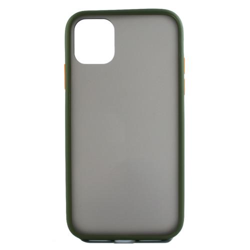 Чехол iPhone 11 Gingel Series Green/Red