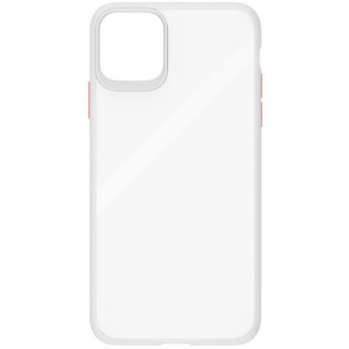 Чехол iPhone 11 Gingel Series Transparent/Red