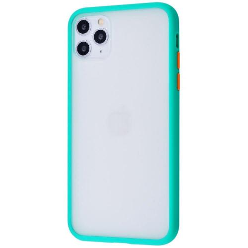 Чехол iPhone 11 Gingel Series Mint/Orange