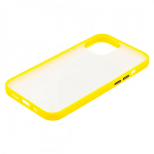 Чехол iPhone 11 Gingel Series Yellow/Black