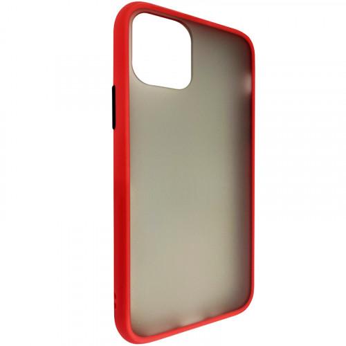 Чехол iPhone 11 Pro Gingel Series Black/Red