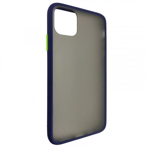 Чехол iPhone 11 Gingel Series Blue/Green
