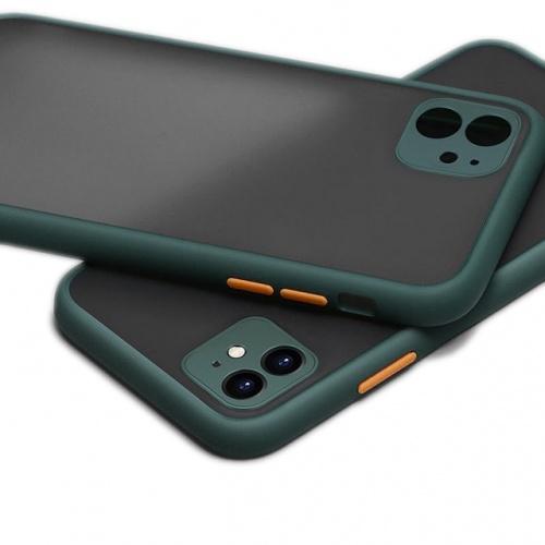 Чехол iPhone 11 Gingel Series Forest/Orange