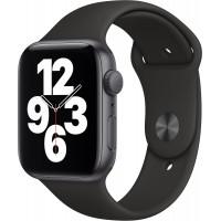Apple Watch SE GPS 44mm Space Gray Aluminum Case w. Black Sport B. (MYDT2) б/у