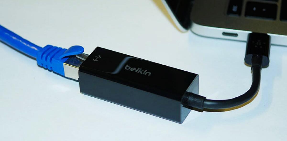 Belkin USB-C to Gigabit Ethernet Adapter