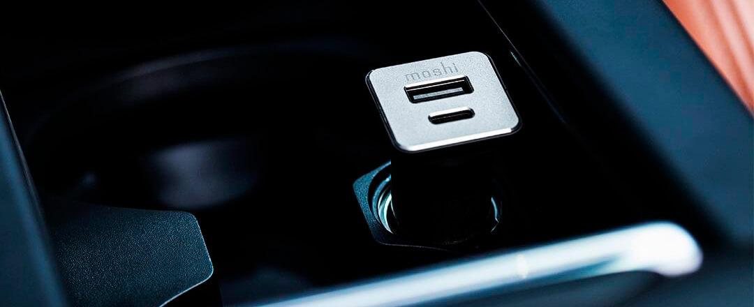 Moshi USB-C Car Charger Black
