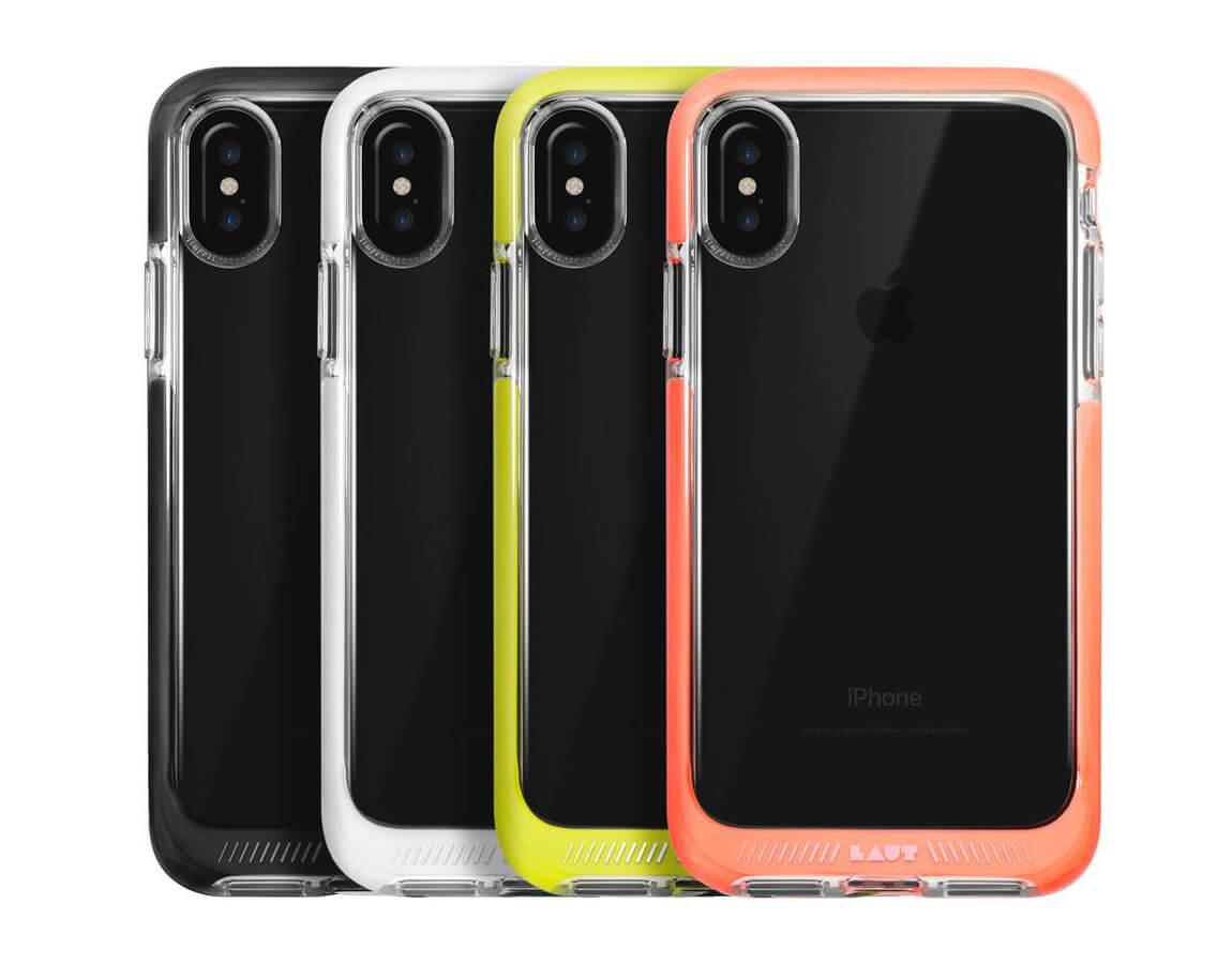 iPhone X LAUT FLURO цвета