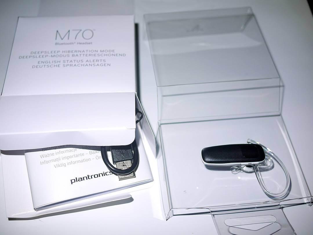 Гарнитура Bluetooth Plantronics M70