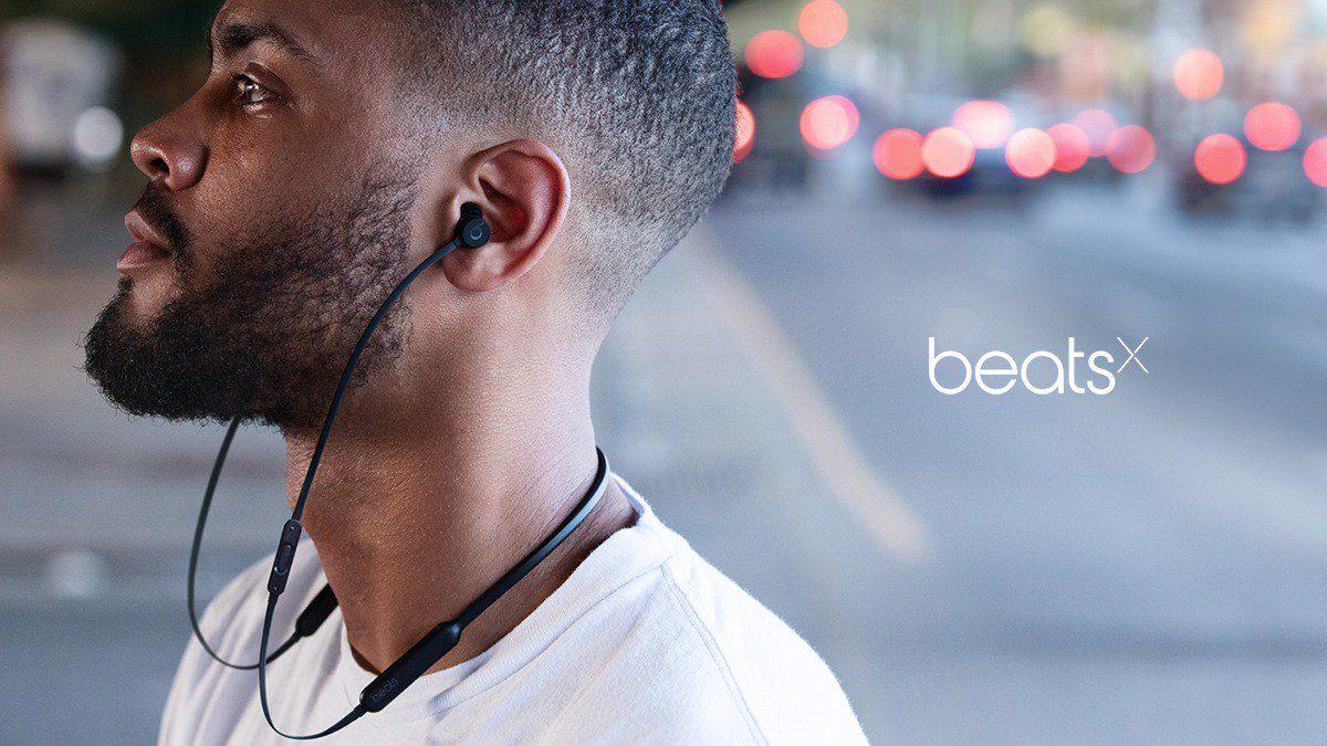 Beats by Dr. Dre Beats X Earphones Black (MLYE2)