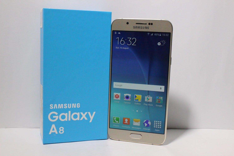 Galaxy a8 box