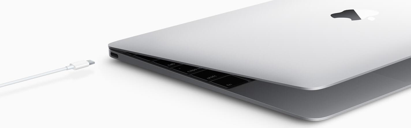 USB-Type C в MacBook 12 2017