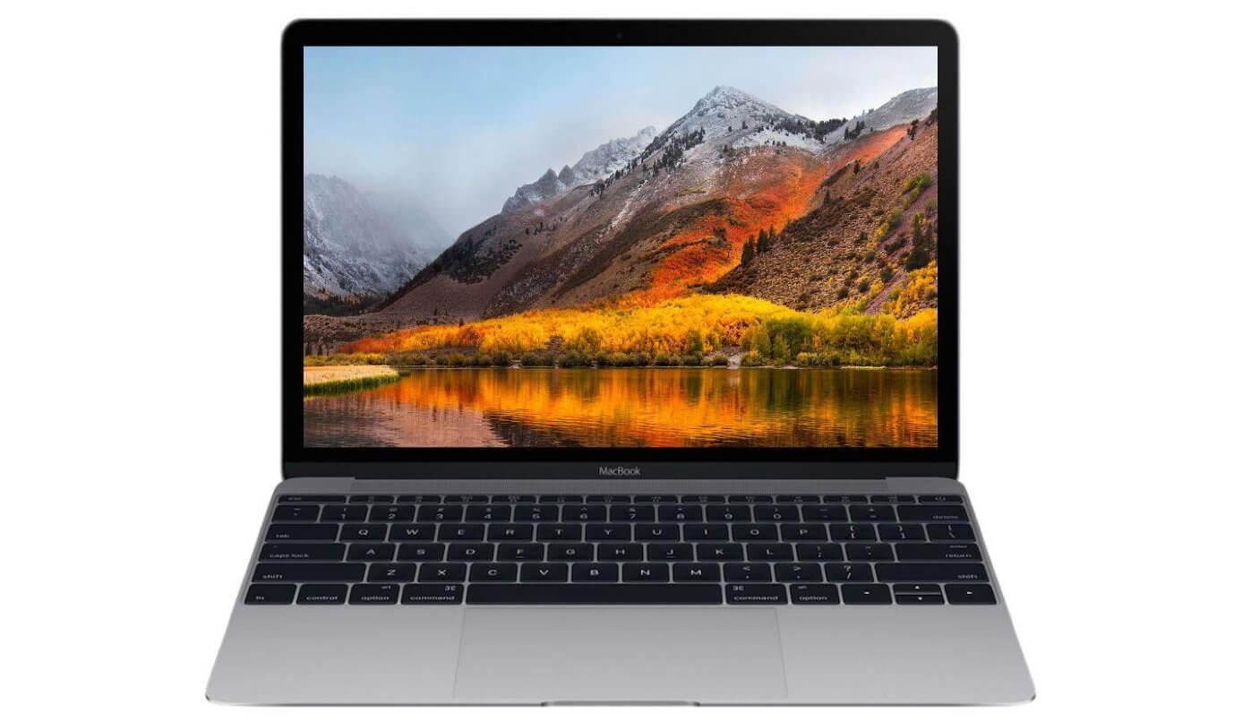 Экран MacBook 12 Space Gray 2017