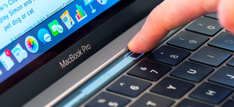 Touch Bar на MacBook Pro 13