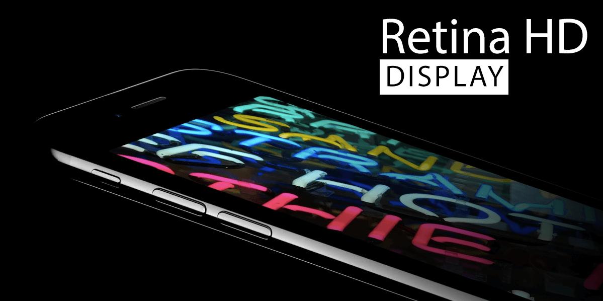 iPhone 7 Retina дисплей