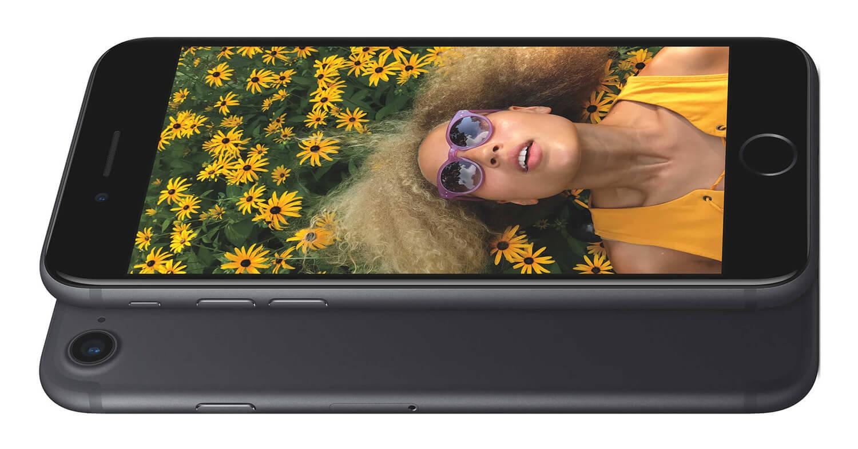 iPhone 7 матовый черный дисплей