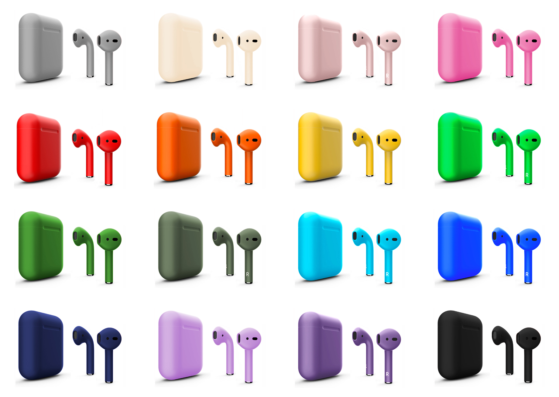 наушники Airpods Color