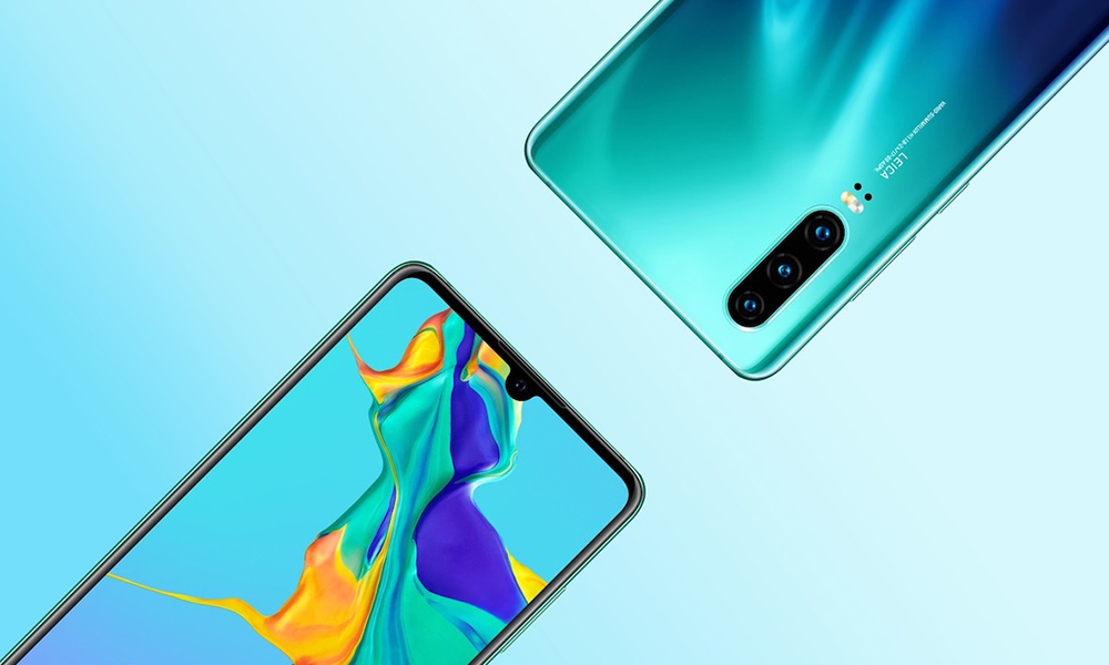 обзор смартфона Huawei P30