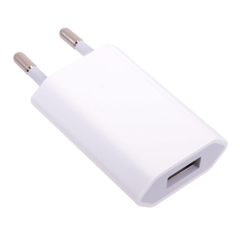 Купить Блок Питания - Сетевой Адаптер Usb Power Adapter Для Iphone 5/5S/6/6 Plus/6S/6S Plus/7/7 Plus/ipad/ipod Usb (Европейская Розетка)
