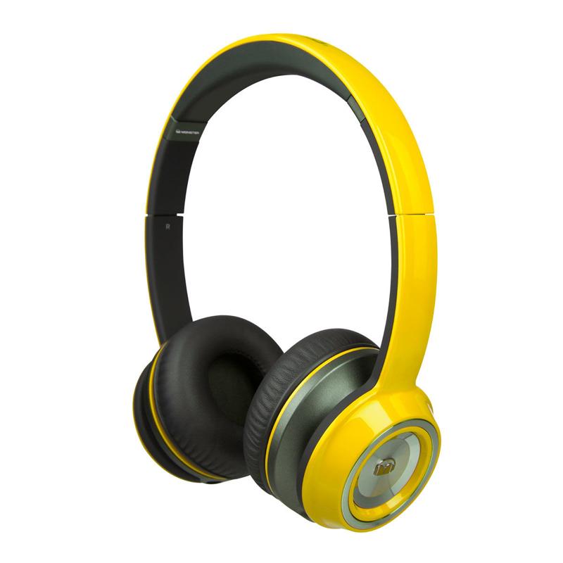 Купить Наушники Monster® NCredible NTune Solid On-Ear Solid Yellow