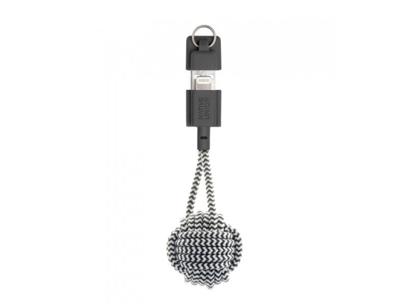 Купить Кабель Native Union Key Cable Lightning Zebra