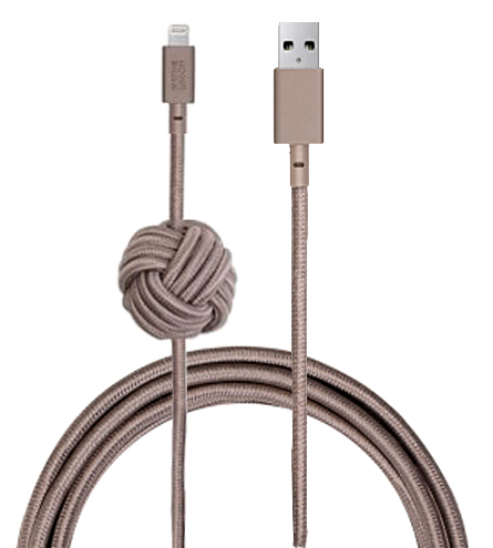 Купить Кабель Native Union Night Cable Lightning Taupe