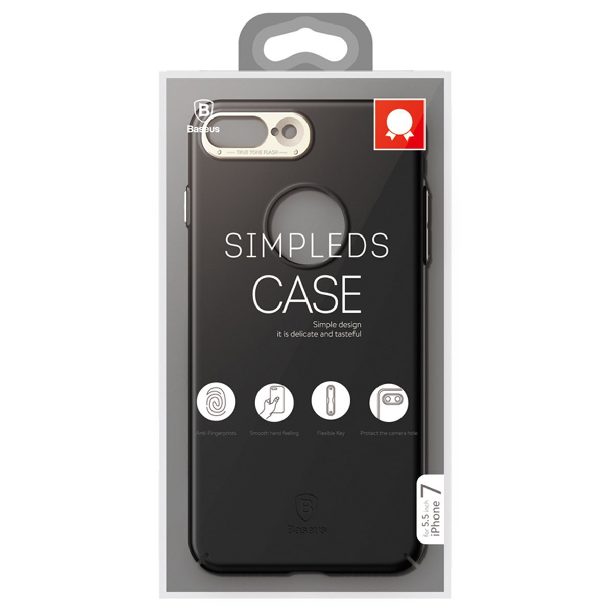 Чехол Baseus Simpleds для iPhone 7 Plus Black