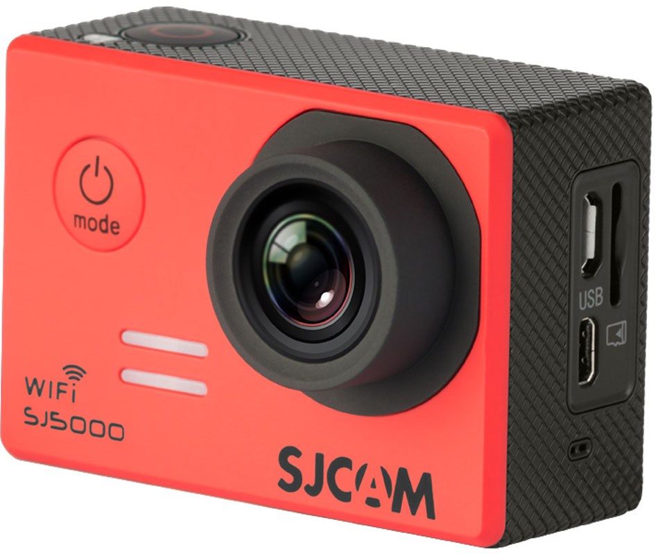 Купить Экшн-камера SJCAM SJ5000 WiFi Red