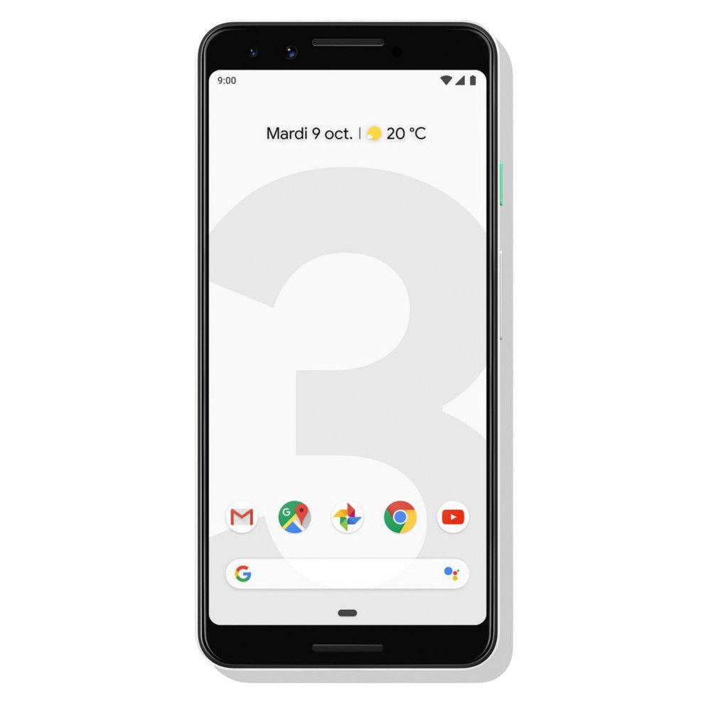 Купить Google, Google Pixel 3 4/64GB Clearly White