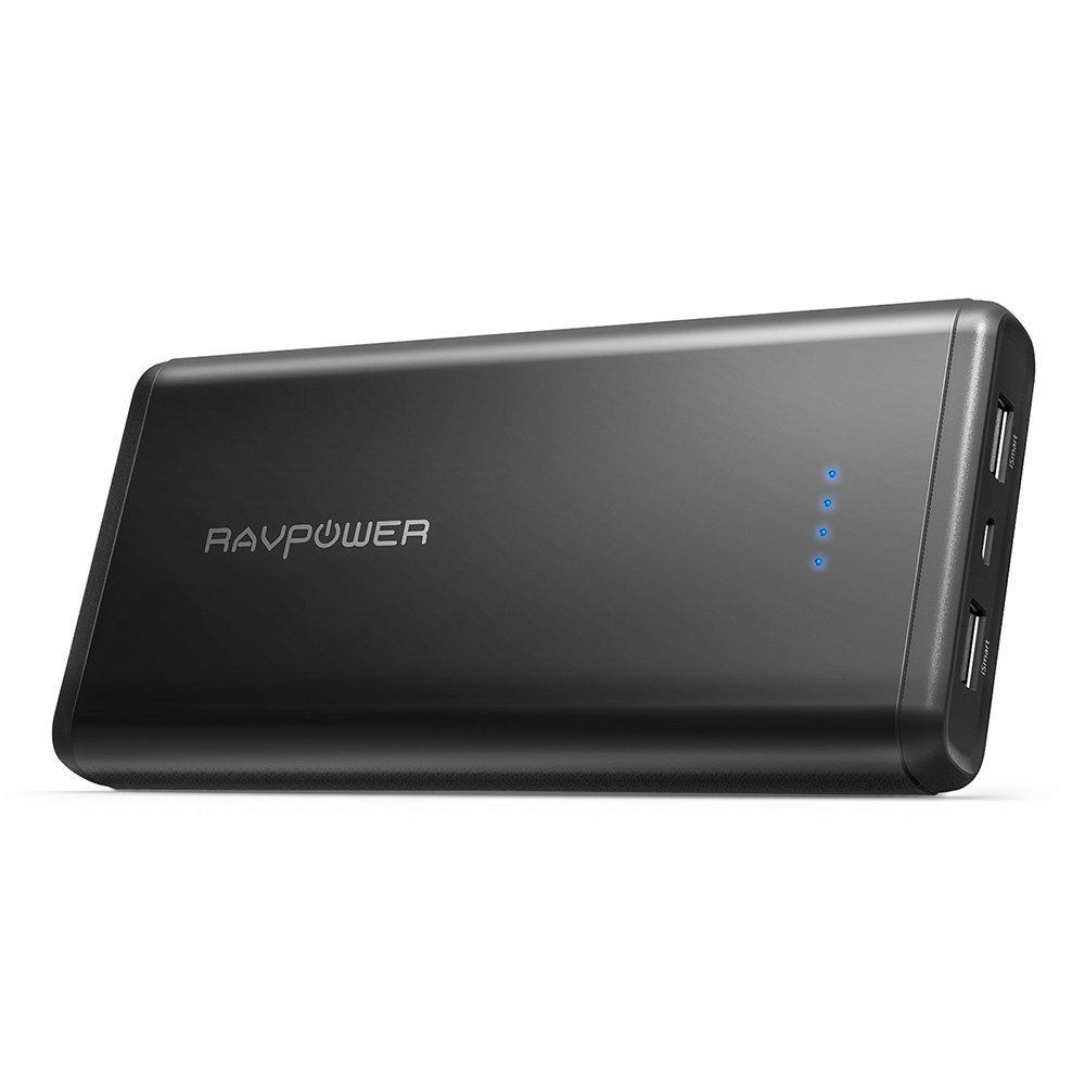 Купить Внешний аккумулятор RavPower 20000mAh Dual iSmart 2.0 Battery Pack RP-PB006